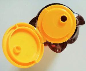 ハニーベアーの黄色の蓋