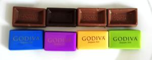 コストコゴディバナポリタンのチョコレー